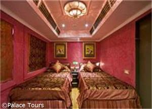 Luxurious deluxe cabin, Palace on Wheels