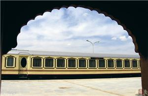 Board the Palace on Wheels, beginning the Nepal India tour
