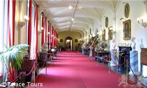 Inside the Scone Palace gallery