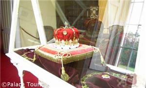 Scottish Crown displayed at Scone palace
