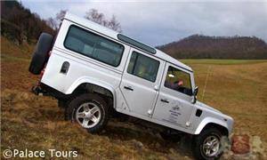 4x4 off-road driving at Rothiemurchus
