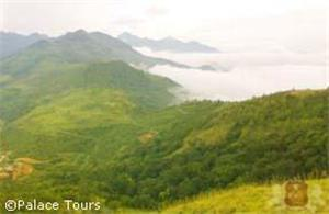 A view from Ponmudi hills, Trivandrum