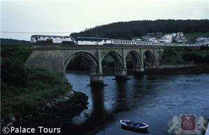 The train in Viveiro