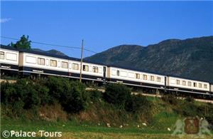 The train heading for Asturias