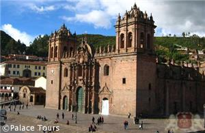 The famed Cathedral of Cusco
