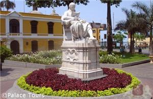 Historic center in Lima