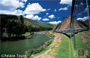 Passing by Urubamba River