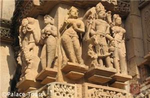 Temple carvings, Khajuraho