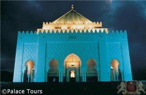 The mausoleum of Mohamed V