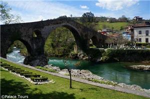 See centuries-old architecture in Cangas de Onís