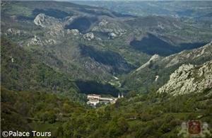 Panoramical view of Covadonga, Asturias