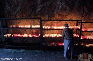 Interior of the Covadonga cave, Asturias