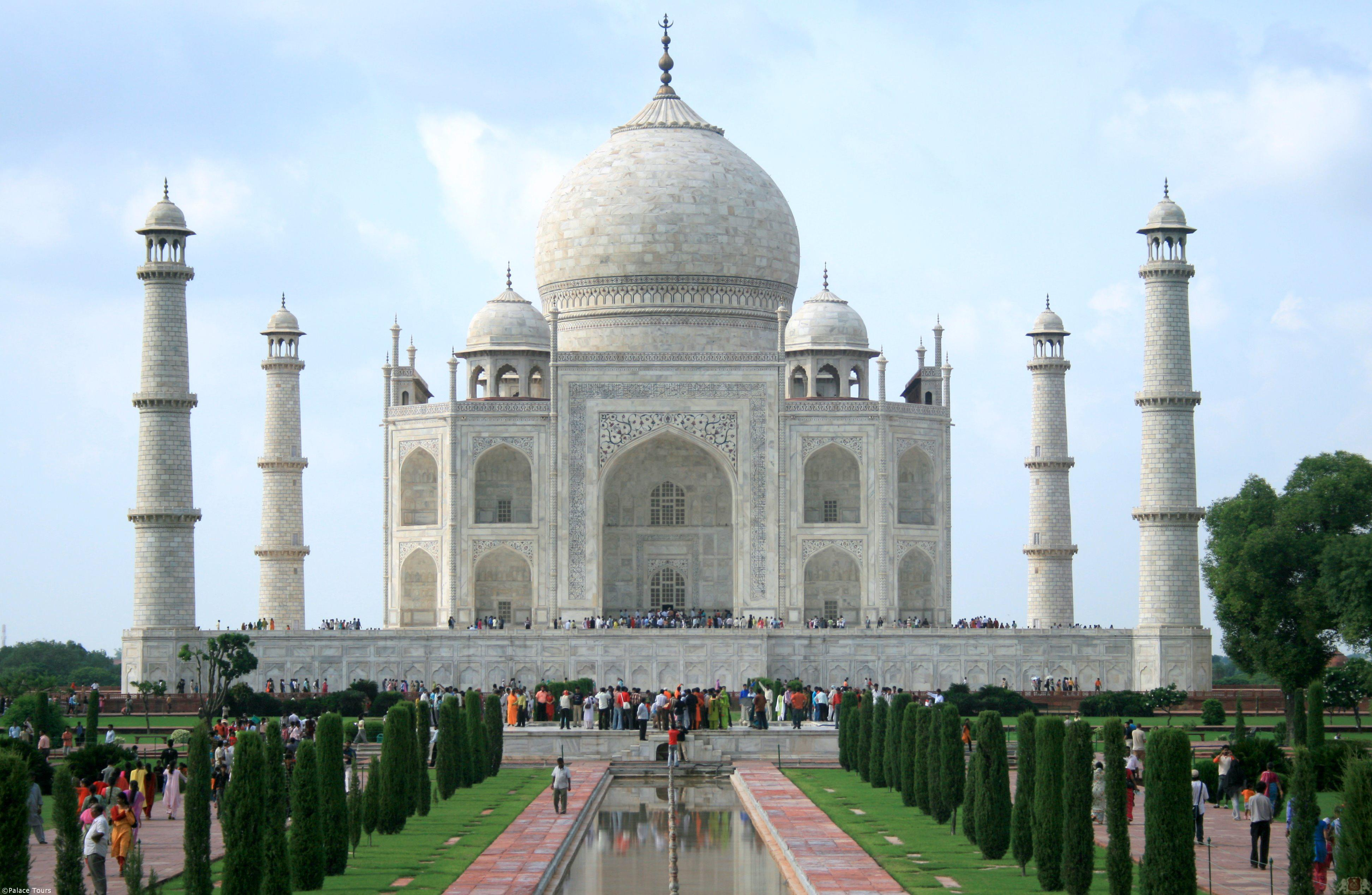 Private tour to the taj mahal in agra brought to you by Indian building photos