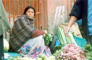 Darjeeling vegetable market