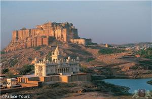 The iconic Mehrangarh Fort, Jodhpur