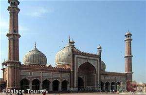 Jama Masjid is the largest mosque in India, Delhi