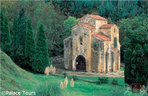 Pre-Romanesque church San Miguel de Lillo, Oviedo