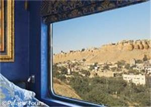 Window view from your luxurious cabin
