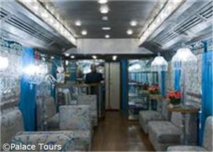 Bar on board, Palace on Wheels
