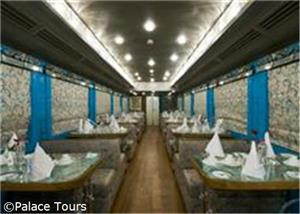 Restaurant on Board the Train