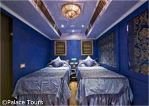 Your luxurious cabin broad the train