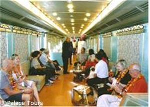 Cozy Train Lounge