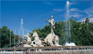 Neptune Fountain, Madrid