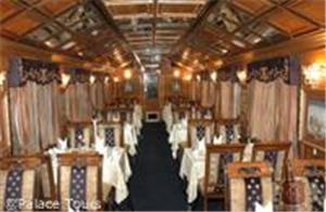 Restaurant on board the train