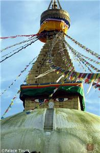 Boudhanath, one of the holiest Buddhist sites near Kathmandu
