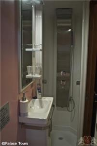 your private bathroom on board