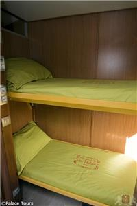 double bunkbed compartment