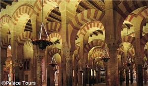 Interior of Mosque of Cordoba, Cordoba