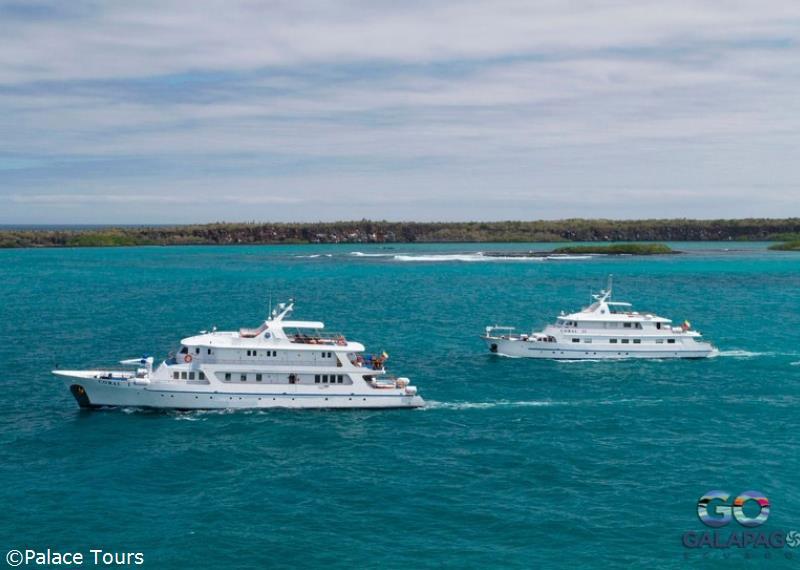 Coral I Amp Coral II Baltra Amp Santa Cruz Island