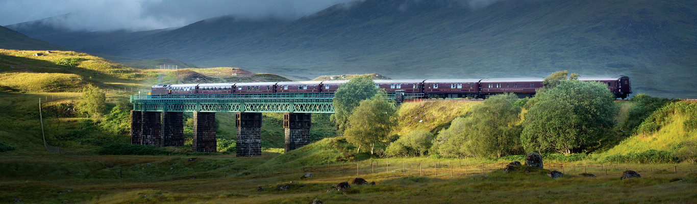 The Belmond Royal Scotsman is your hotel on wheels where you will sleep in beautiful, en-suite cabins and dine on the finest Scottish cuisine