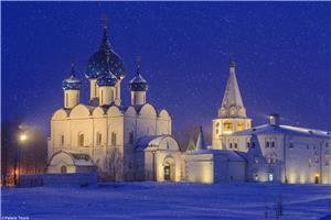 Suzdal is an original Russian town