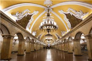 Moscow's Metro Station is among the best in the world