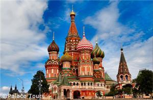 The iconic St. Basil's Cathedral