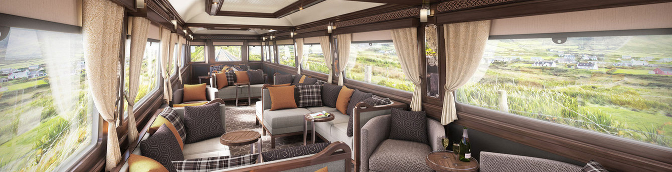 Travel the Emerald Isle on the luxury Belmond Grand Hibernian as you dive into Irish culture