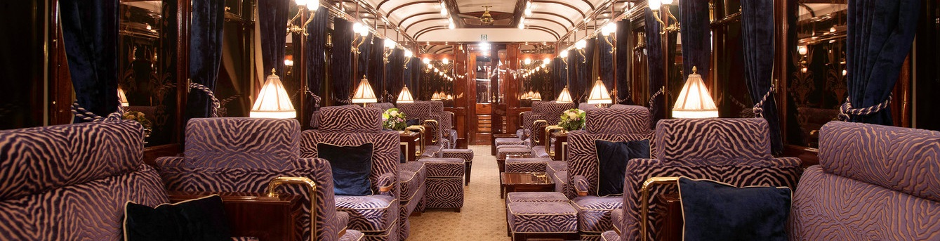 Travel in style on this luxury train: indulgence and romance await you
