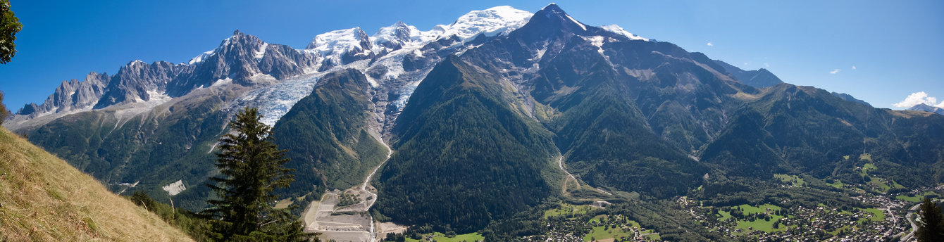 Views of the Alps will captivate any traveler