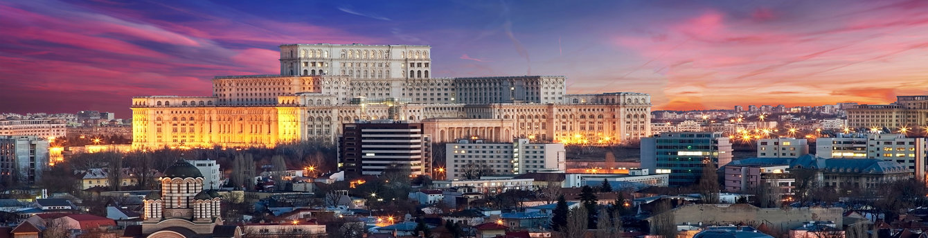 See the stunning view of Bucharest