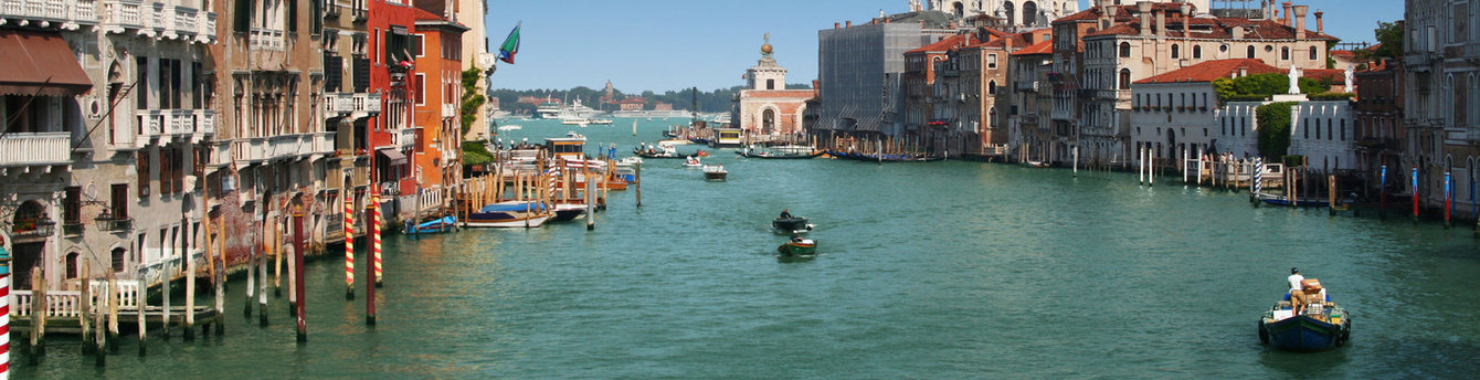 Arrive in Venice after an unforgettable and gorgeous tour of iconic cities