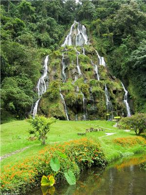 Waterfall in the Cocora Valley