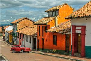 A Neighborhood in Candelaria, Bogota