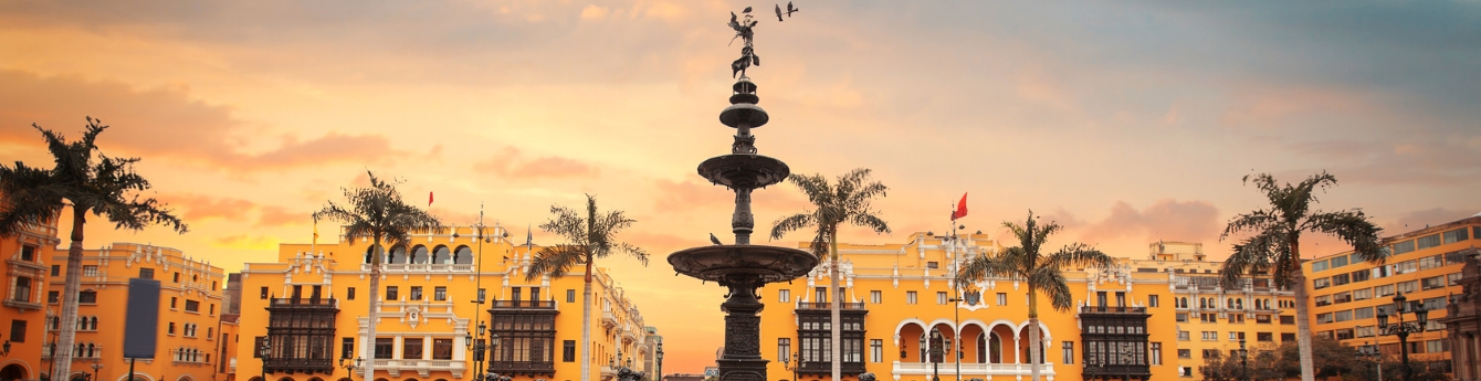 Gaze at beautiful sights in historical cities like Lima