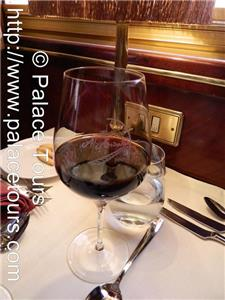 Dining with luxury on board the train