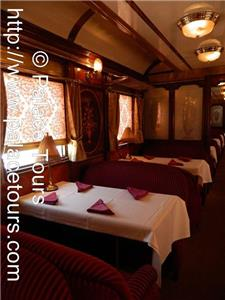 Dining Car / Restaurant on the train