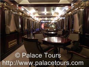 Lounge of Al Andalus Train