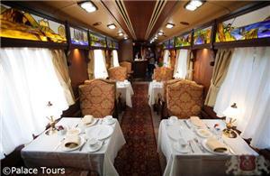 Lounge Car on board El Transcantabrico